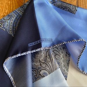 Nordstrom's Made In Italy Silk Pocket Square